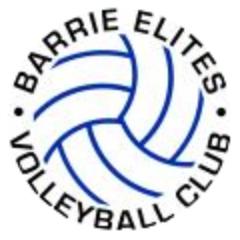 Barrie Elites Volleyball Club Logo