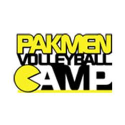 Pakmen Volleyball Camp Logo